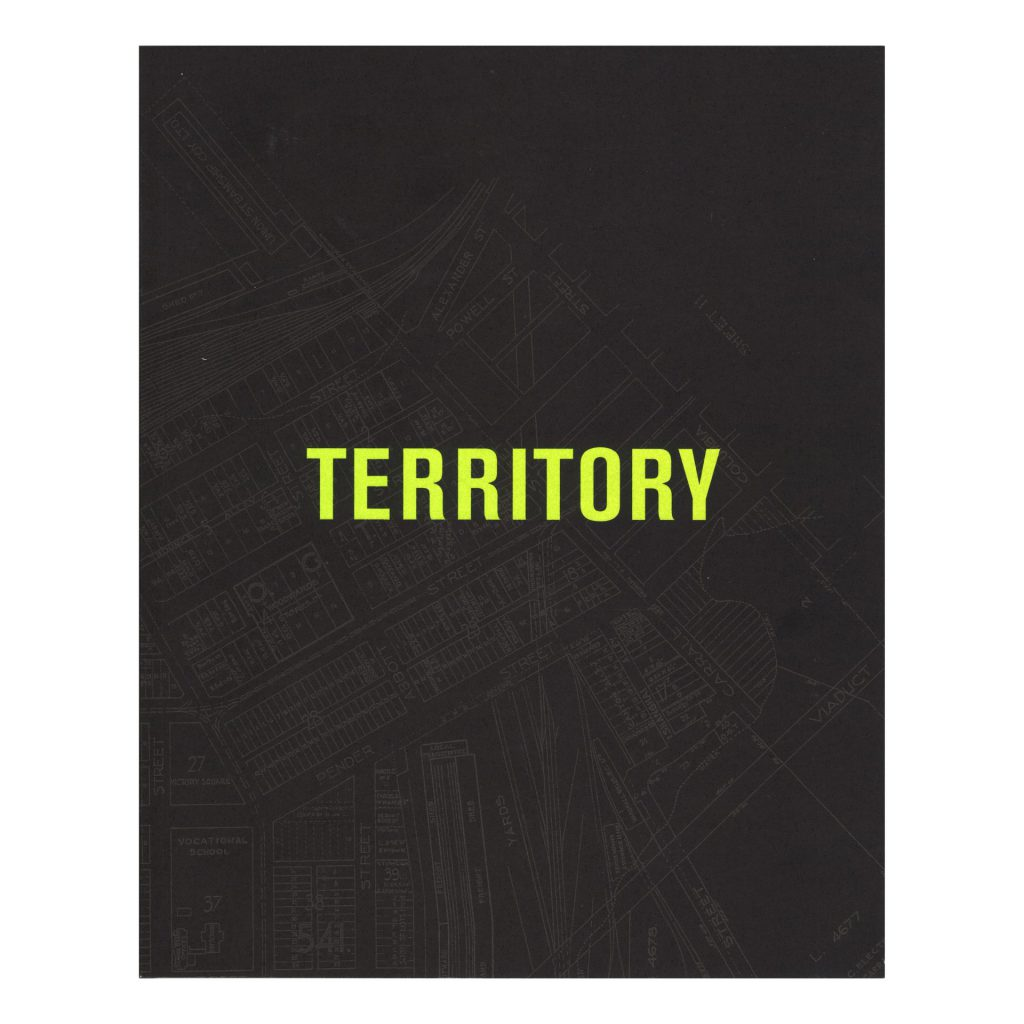 Territory exhibition publication