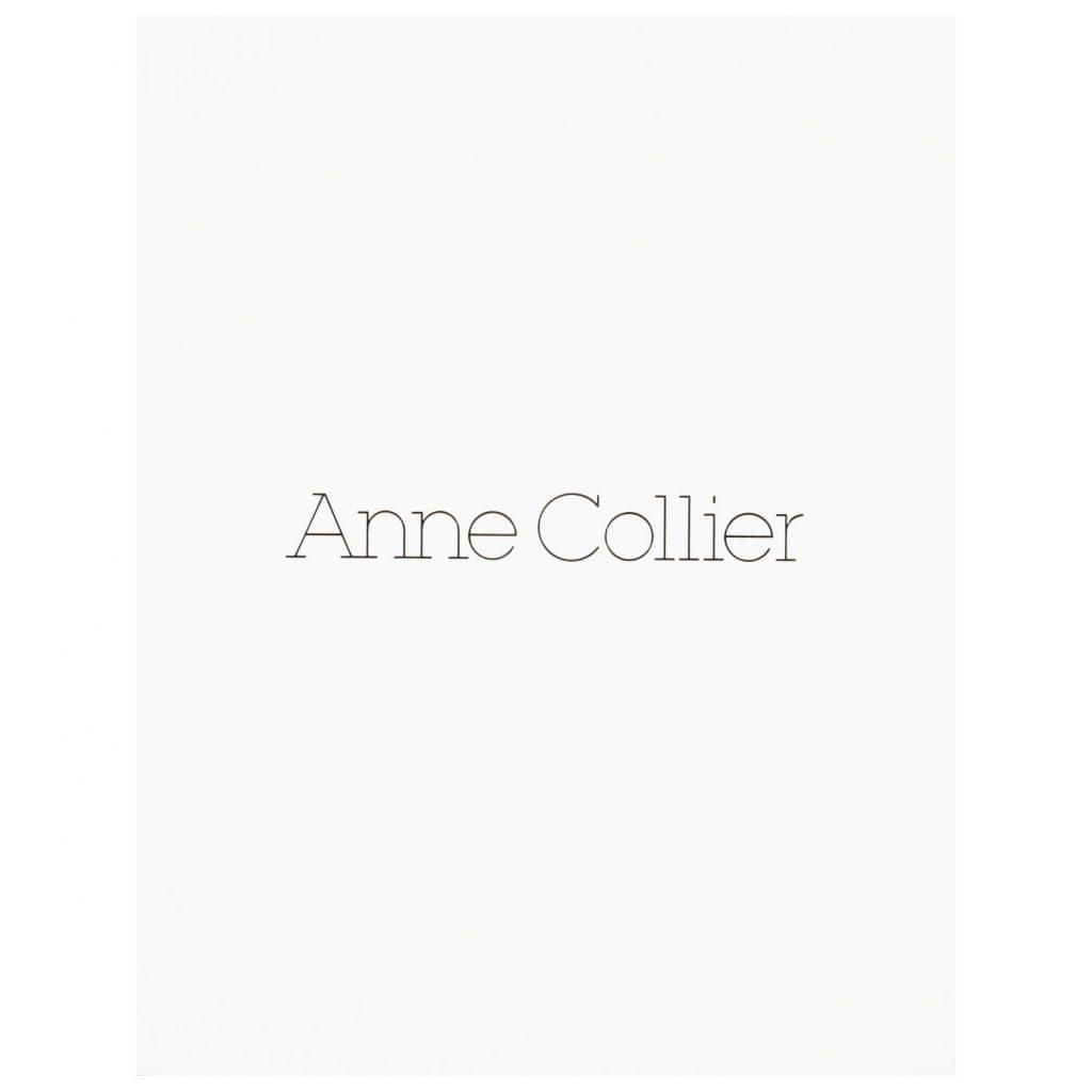 Anne Collier exhibition publication