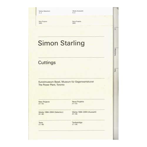 Simon Starling : Cuttings