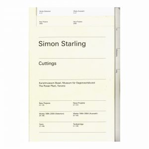 Simon Starling : Cuttings