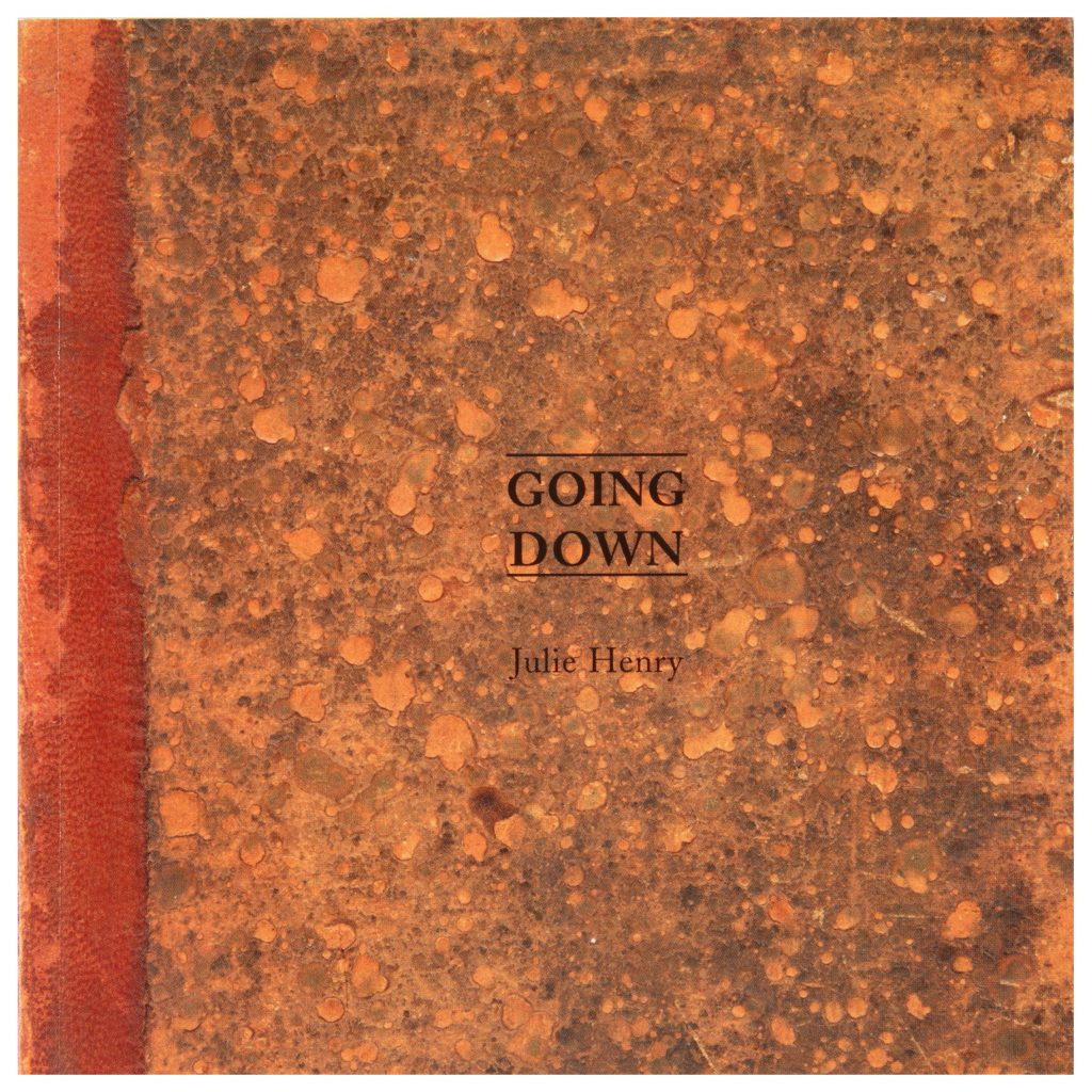 Julie Henry, Going Down, exhibition publication