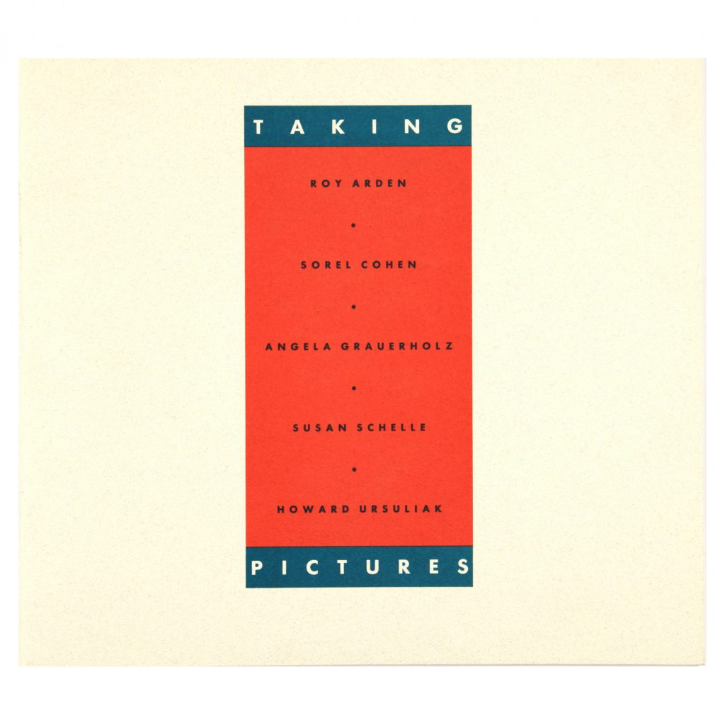 Taking Pictures exhibition publication