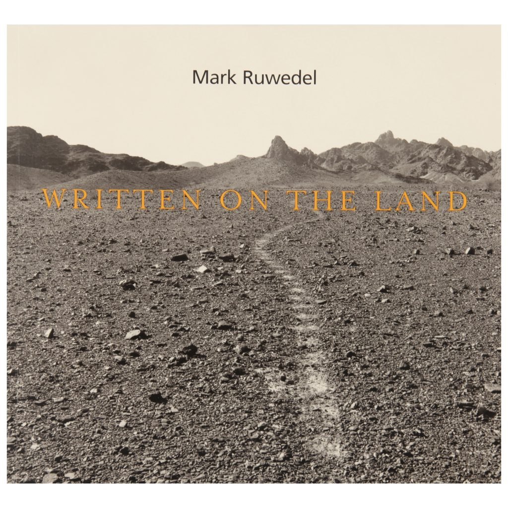 Mark Ruwedel, Written on the Land, exhibition publication