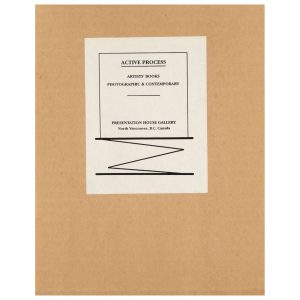 Active Process: Artists' Books Photographic and Contemporary