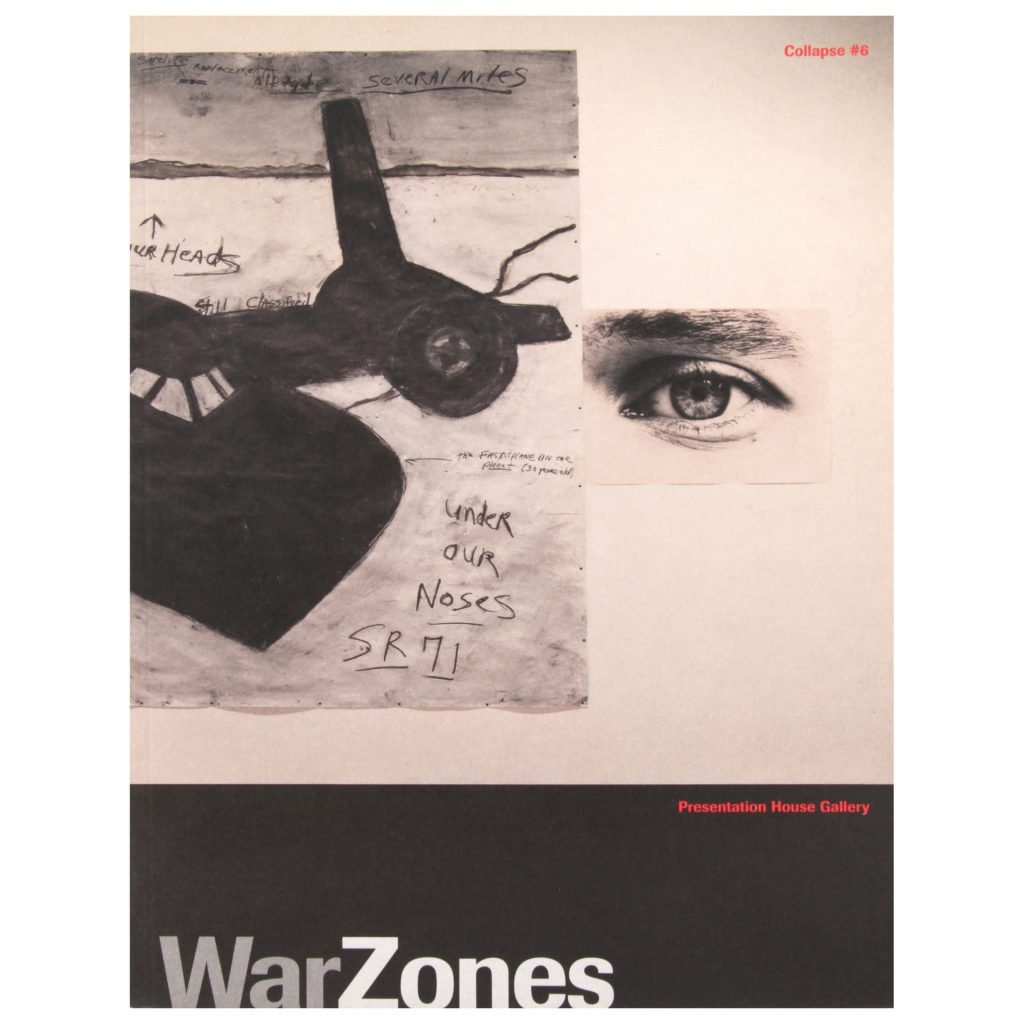 War Zones exhibition publication