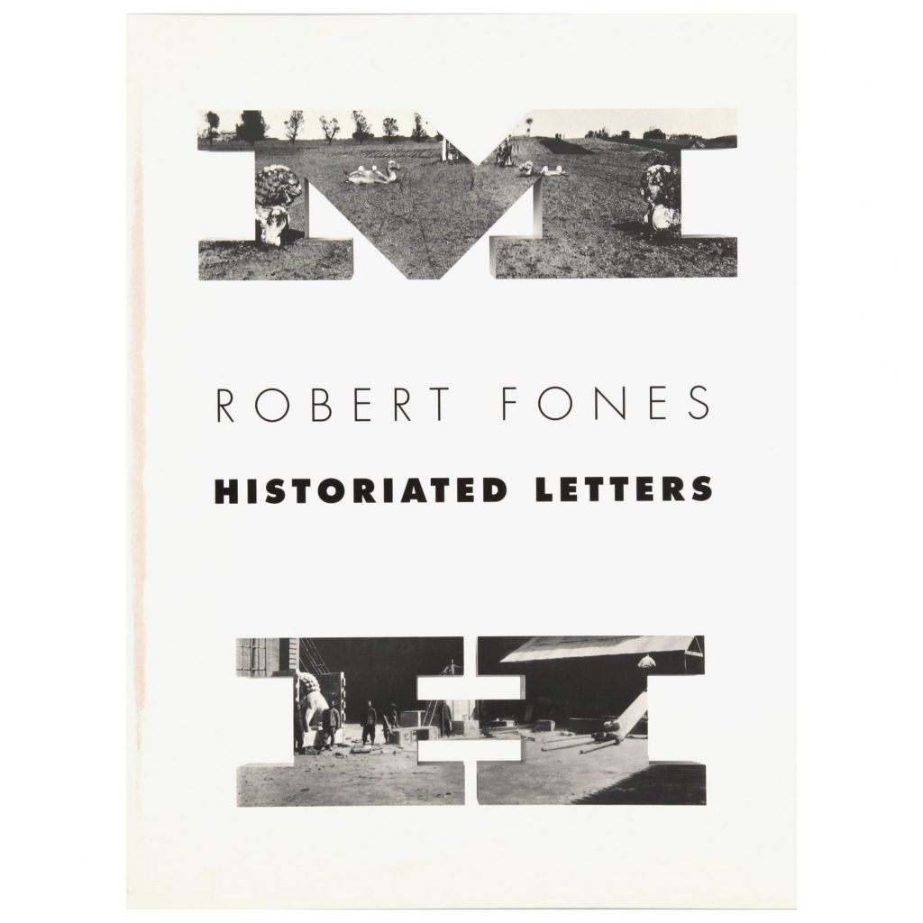 Robert Fones Historiated Letters exhibition publication