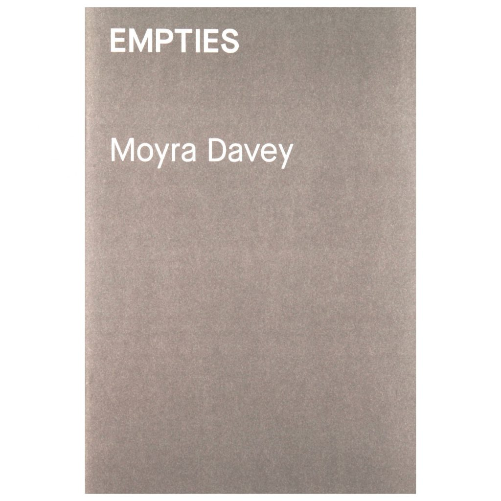 Moyra Davey Empties exhibition publication