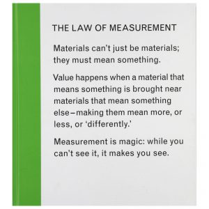 Isabelle Pauwells: The Law of Measurement