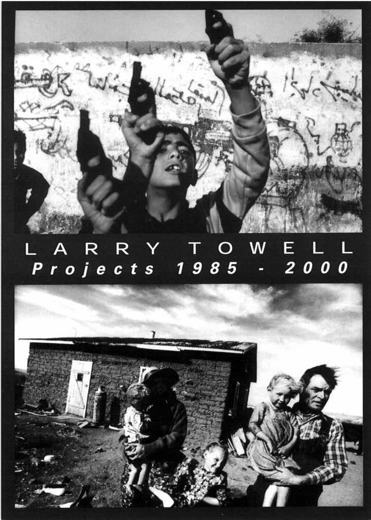 Larry Towell, Gallery Invitation  - front