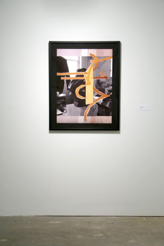 Damian Moppett, Caryatid / Caro, 2011, Inkjet print