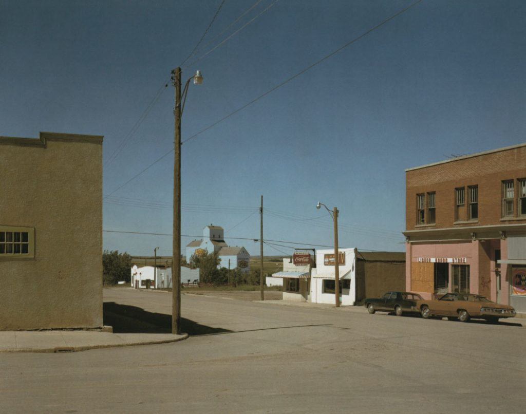 Stephen Shore, Gallery Invitation, Front