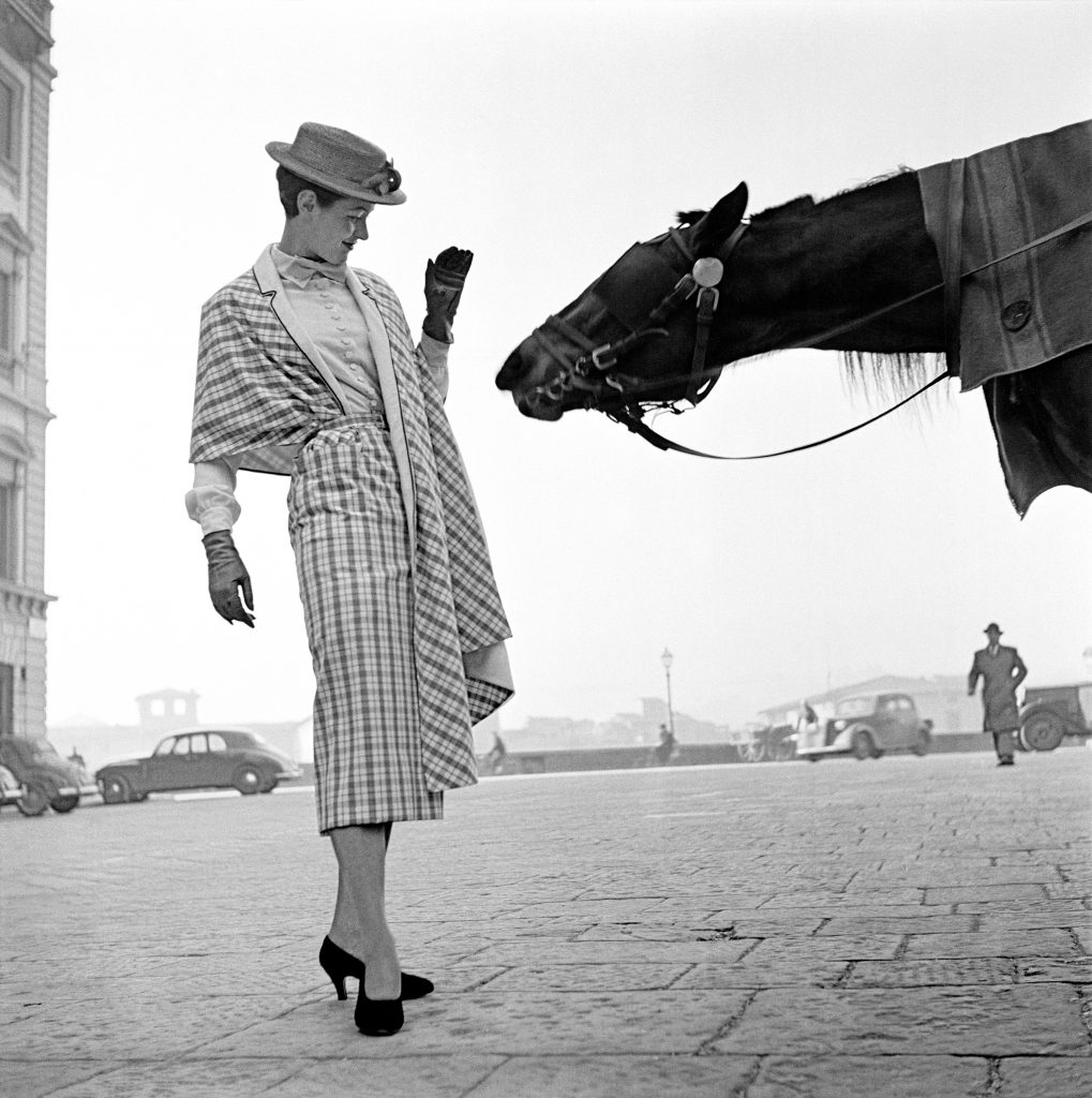 1951, Florence, first fashion photo