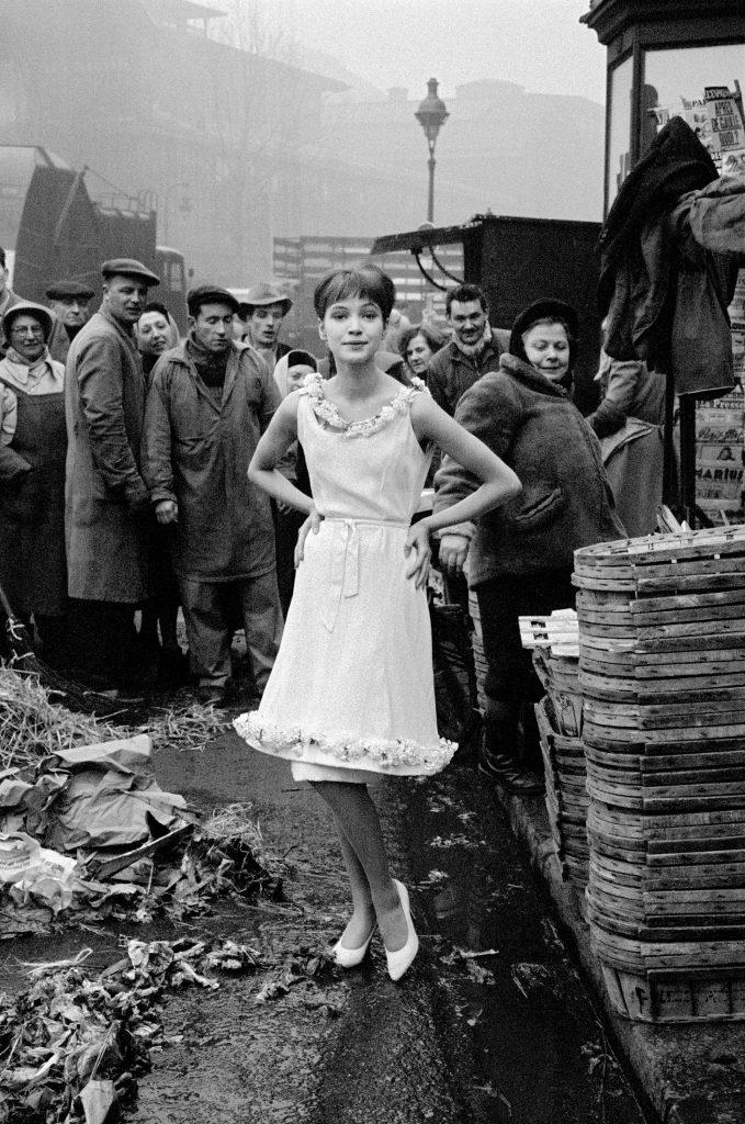 1959, Jours De France, Anna Karina et les Halles