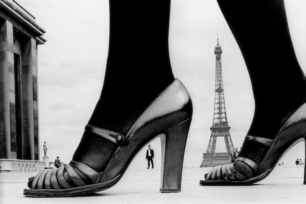 1974, Paris, for Stern, shoe and Eiffel Tower