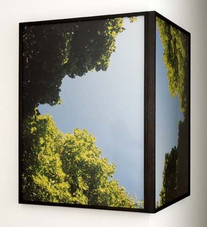 Matt Keegan, Skypocket, 2006, C-prints with custom frame diptych, each: 152.4 x 101.6 cm. Image courtesy Kim Heirston of Art Advisory, New York