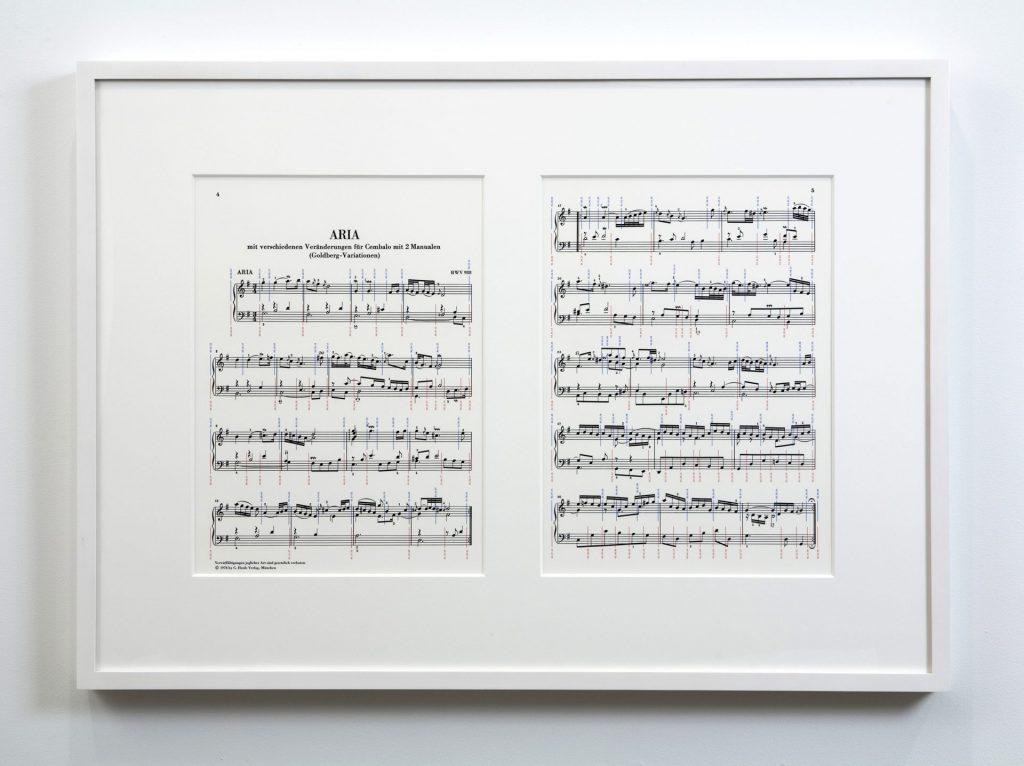 Aria: Goldberg Variations, Johann Sebastian Bach, 1742