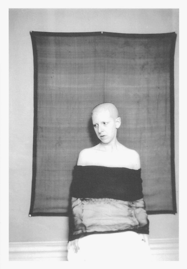 Claude Cahun, Gallery Invitation - front