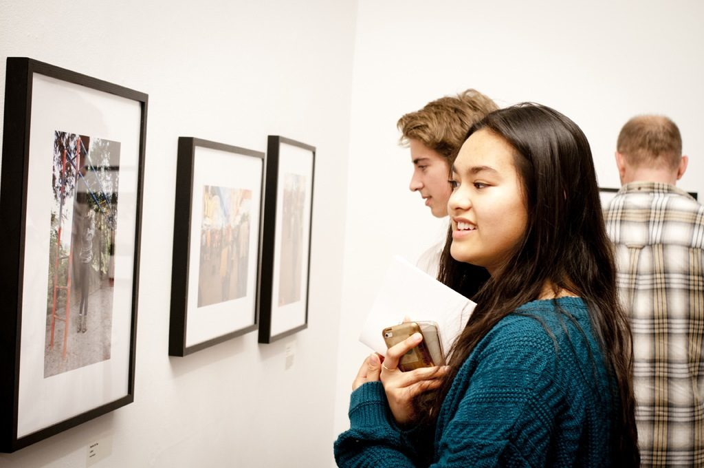 "Visitors of ""Our Image, Your Image"". Photo: Rachel Topham. Courtesy Rachel Topham Photography"