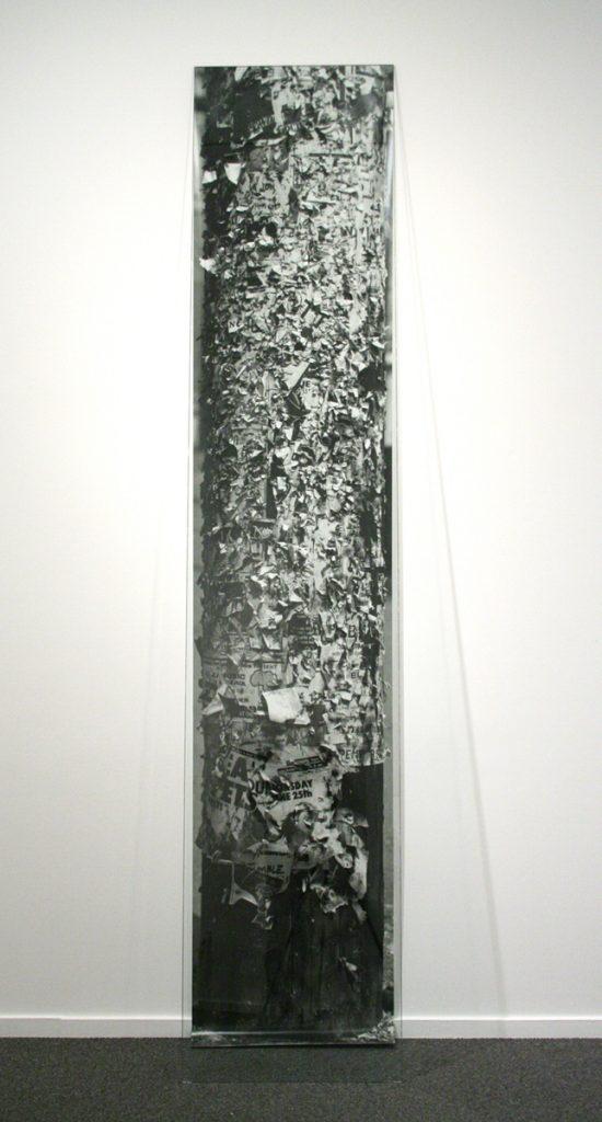 Christos Dikeakos, Column Ruin, 1987