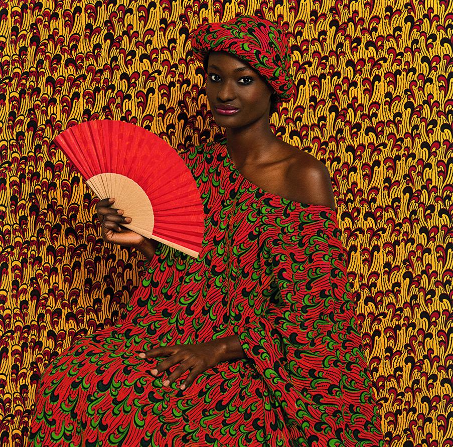 Omar Victor Diop, Animata, Le Studio des vanités, 2013, inkjet print