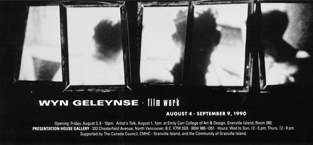 Geleynse, Gallery Invitation