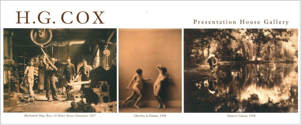 H.G. Cox editions brochure