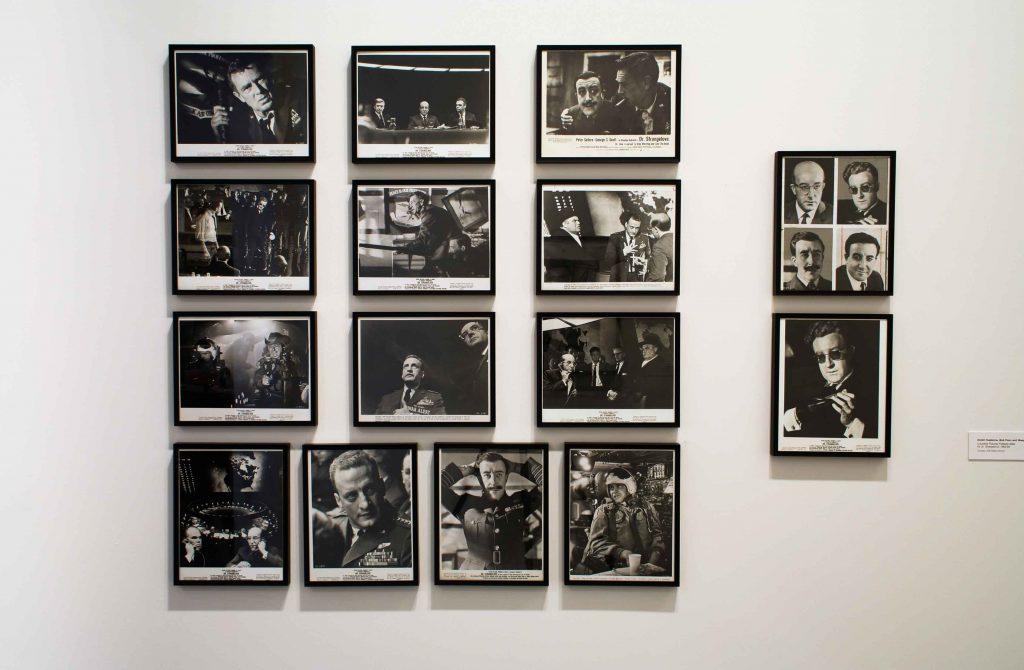Strangelove's Weegee installation
