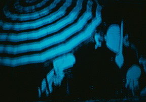 Katherine Knight, I became unconscious, detail of video installation, 1996