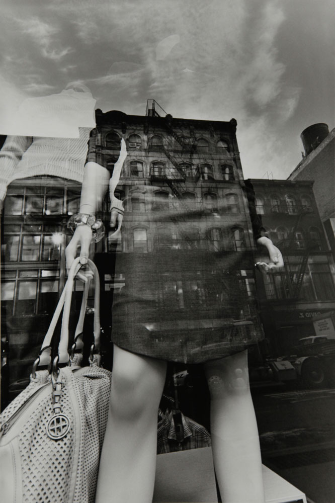 Lee Friedlander, N.Y.C., 2011, gelatin silver print, courtesy the Artworkers Retirement Society