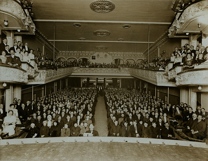 "Bullen & Lamb, ""Lonsdale Theatre, North Vancouver, Grand Opening Night, Dec. 11, 1911,""  gelatin silver print (1389)"