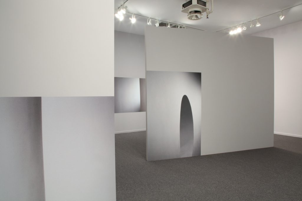 "Installation views of ""I Walked Into a Moment"""