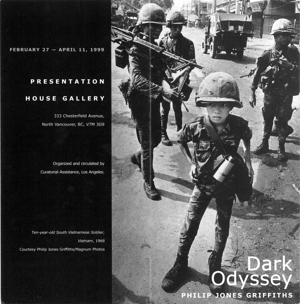 Dark Odyssey, Gallery Invitation - front