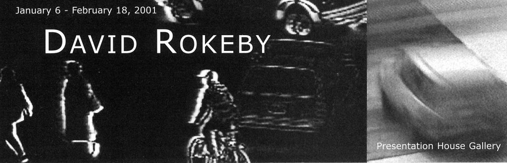 Rokeby, Gallery Invitation- front