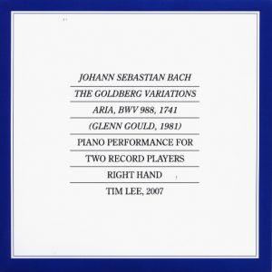 Goldberg Variations, Aria, BWV 988, Johann Sebastian Bach, 1742 (Glenn Gould, 1981)