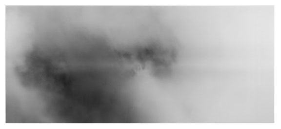 Andrew Wright, Skies XII, Unique Camera Obscura Gelatin Silver Print, 2004, 229 x 105 cm