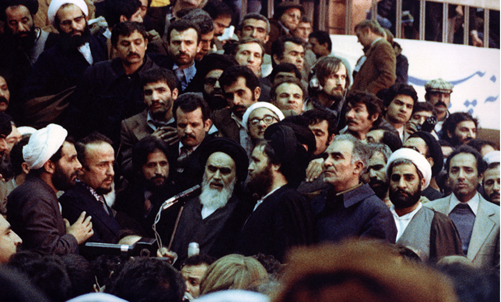 Ayatollah Khomeini's First public address upon his arrival at Mehrabad Airport. February 1, 1979.