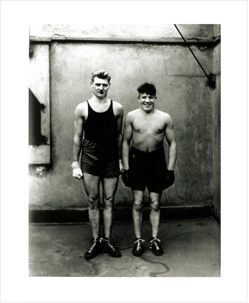 """Boxers"" ; Cologne 1929. August Sander"