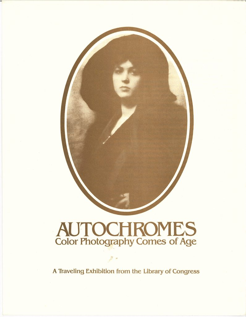 Cover of the exhibition brochure
