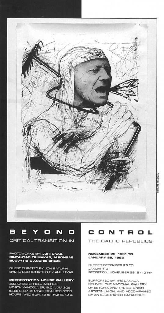 Beyond control, Gallery Invitation