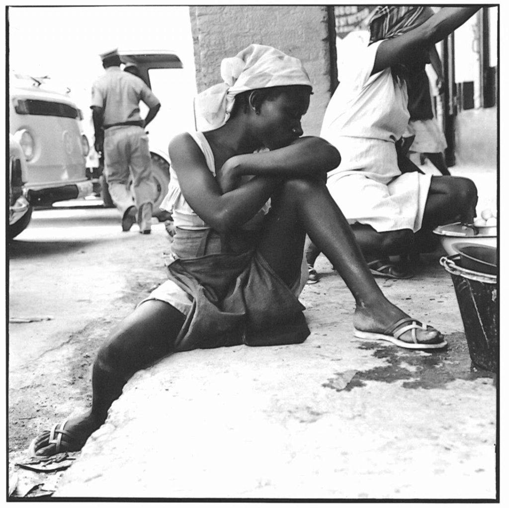 Girl in the Market, Port au Prince, Haiti, 1984