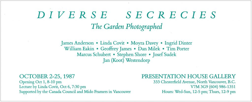 Diverse Secrecies, Gallery Invitation