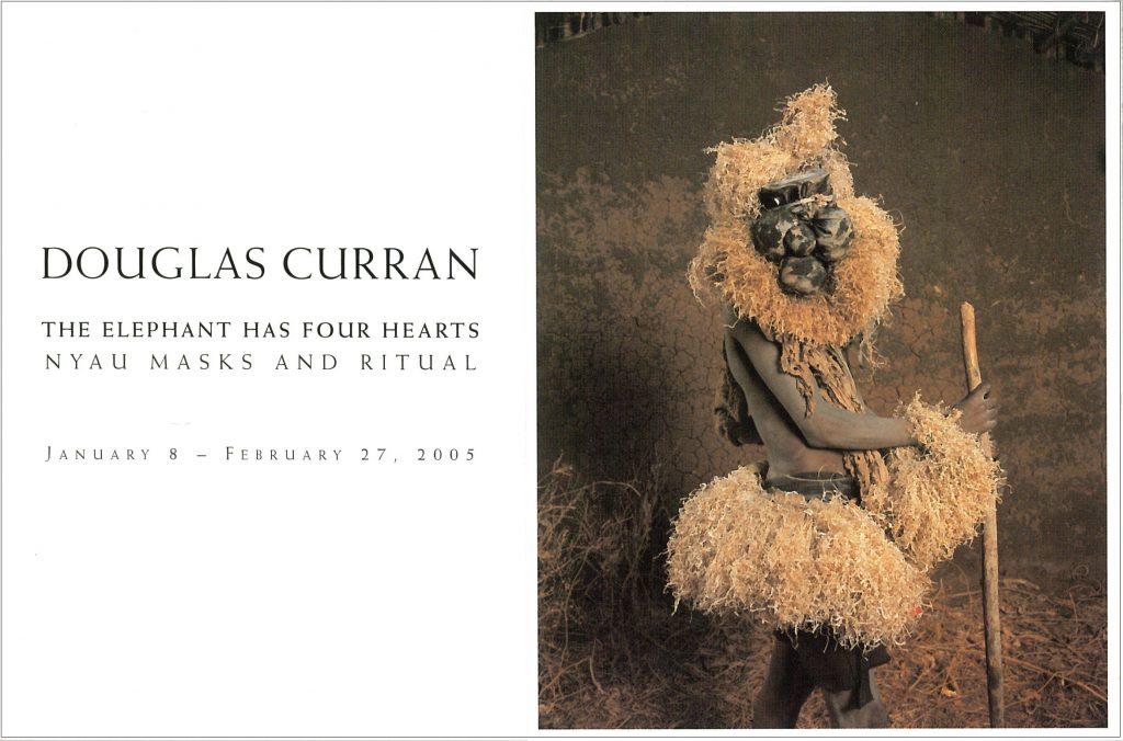 Elephant has four hearts, Gallery Invitation - front