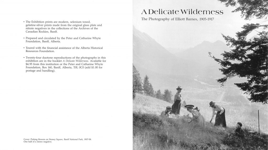 Exhibition brochure - page I