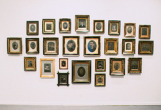 Forgotten Marriage, Installation view, 1995