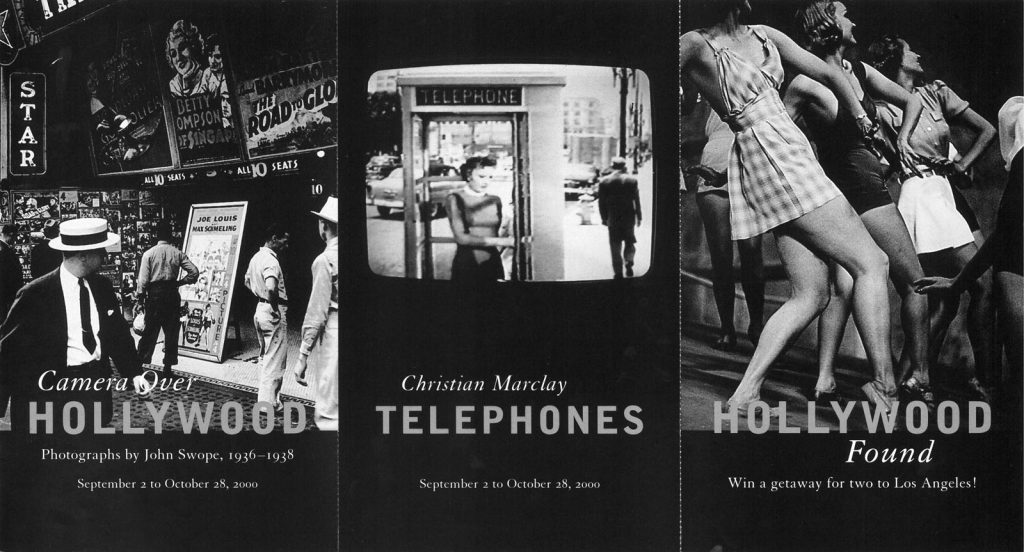 Telephones, Gallery Invitation - front