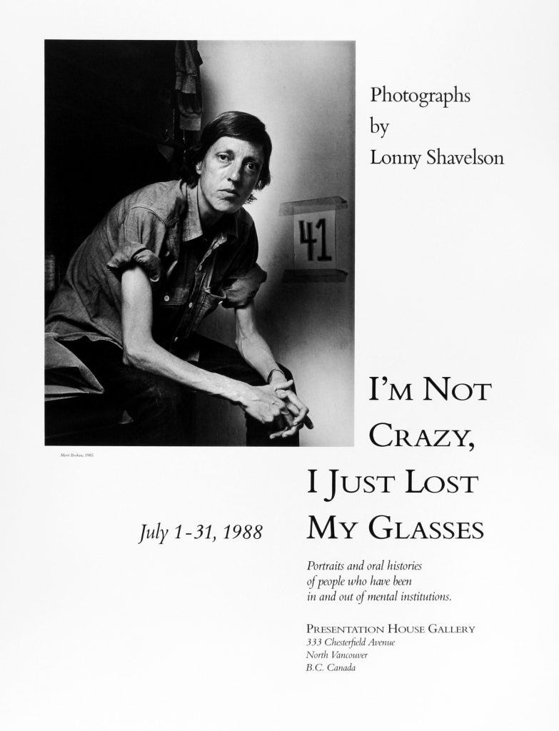 "Poster for the exhibition ""I'm Not Crazy, I Just Lost My Glasses"""