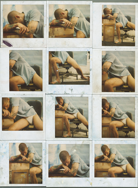 Attila Richard Lukacs & Michael Morris, After Goya, 2000 12 polaroid prints 31 cm x 40.5 cm each. Courtesy the artists.
