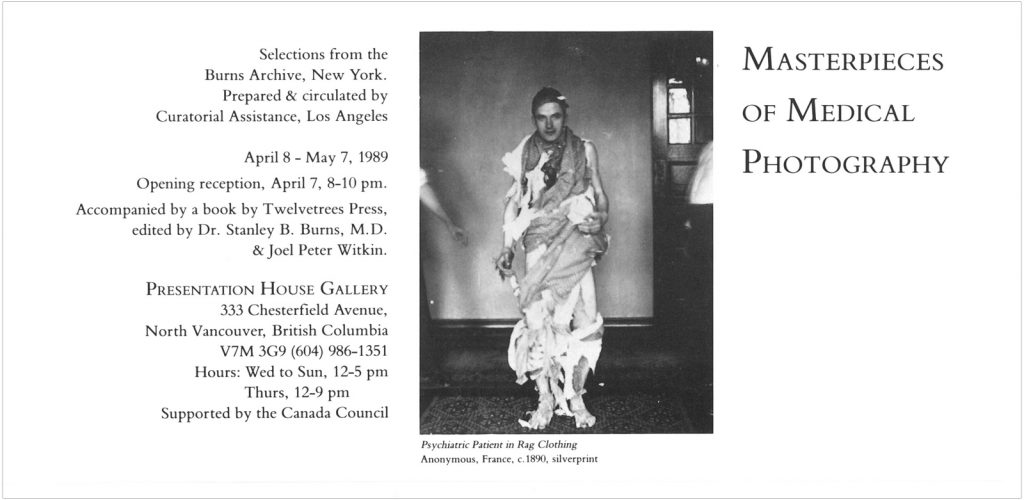 masterpieces of medical photography, Gallery Invitation