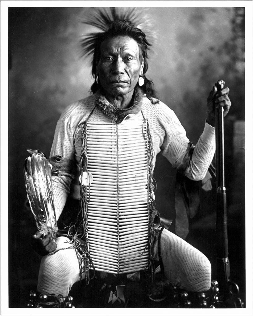 Sharp Horn Bull, Sioux, North Dakota. c. 1904
