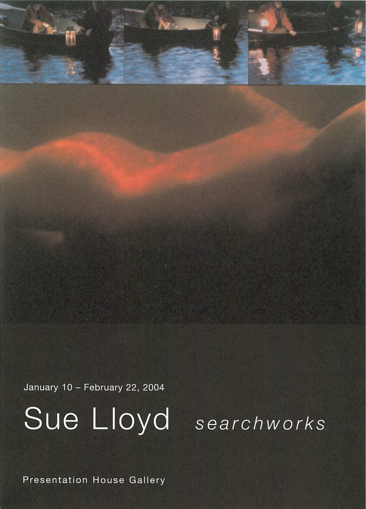 Sue Lloyd, Gallery Invitation - front